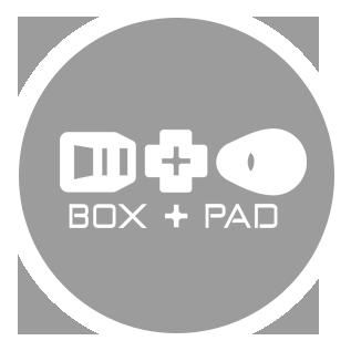 Box and Pad logo