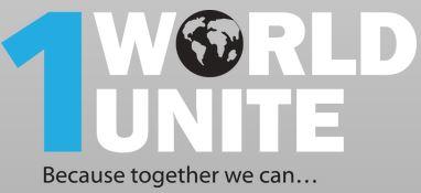 1 World Unite logo