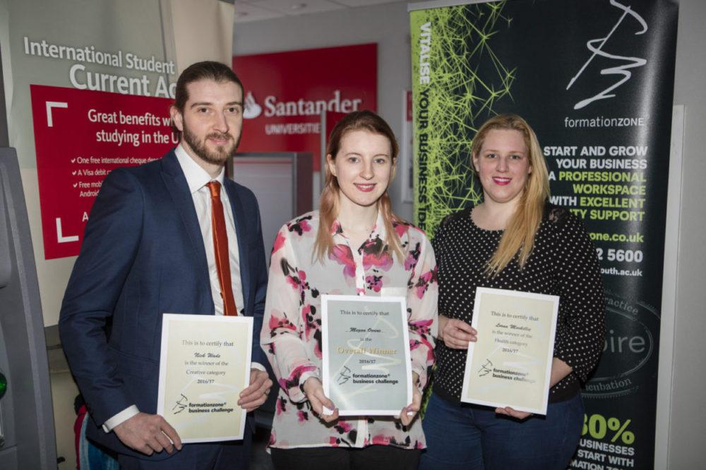 FZ Business Challenge winners 2017